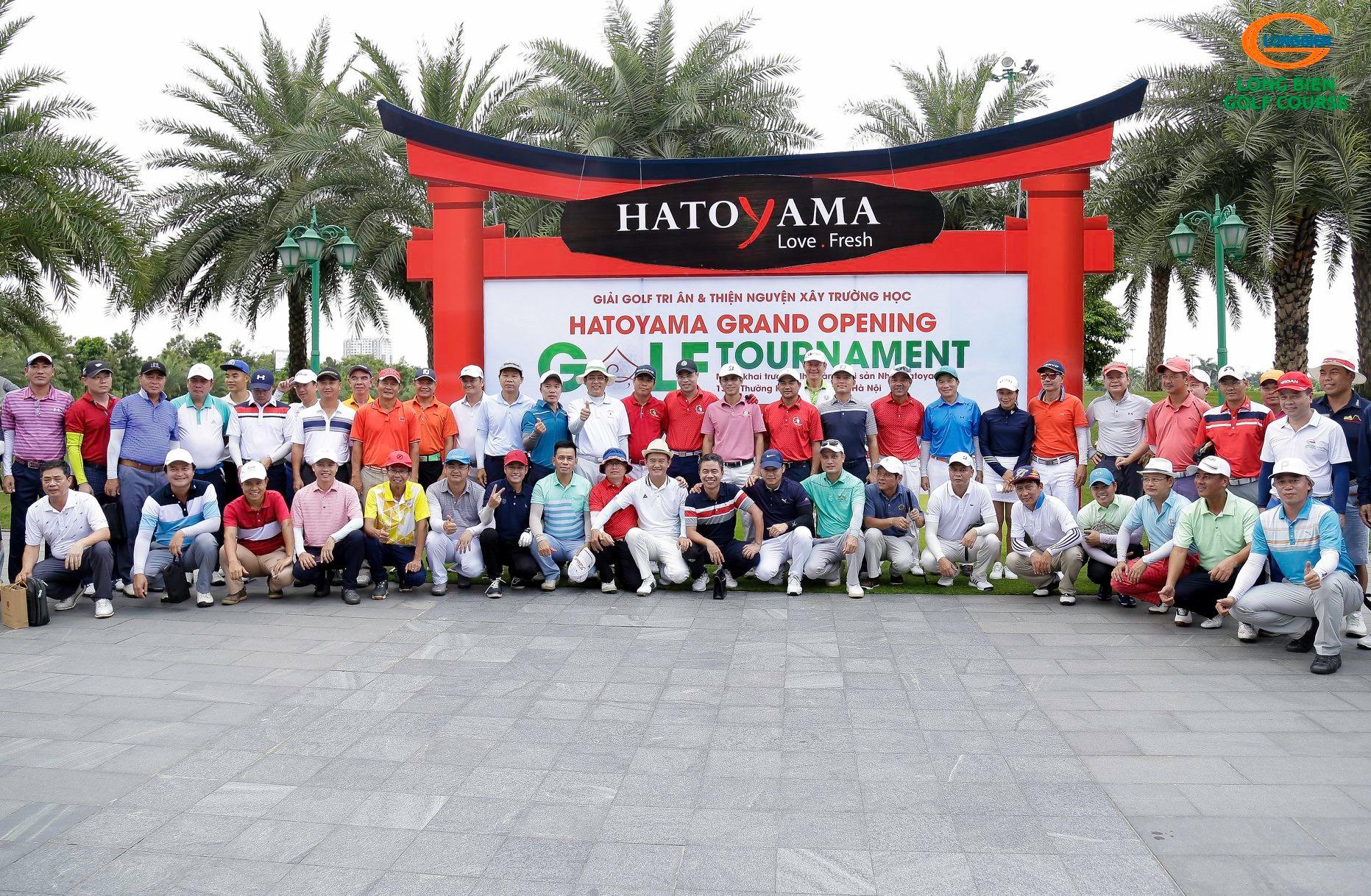 HATOYAMA GRAND OPENING GOLF TOURNAMENT - GIẢI GOLF TRI ÂN VÀ THIỆN NGUYỆN XÂY TRƯỜNG HỌC