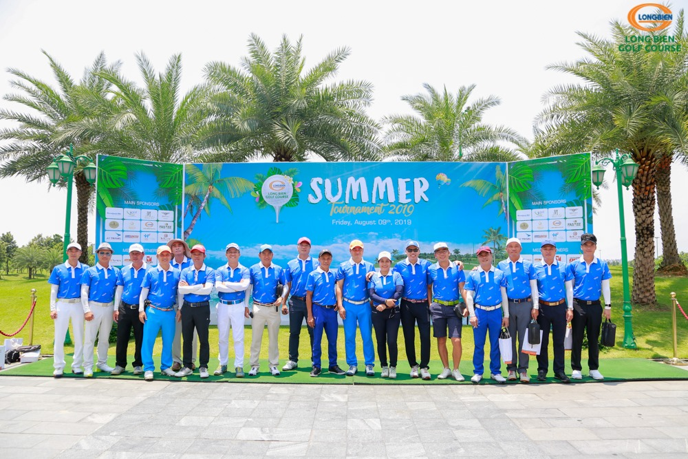 KẾT QUẢ GIẢI GOLF LONG BIEN GOLF COURSE SUMMER TOURNAMENT 2019