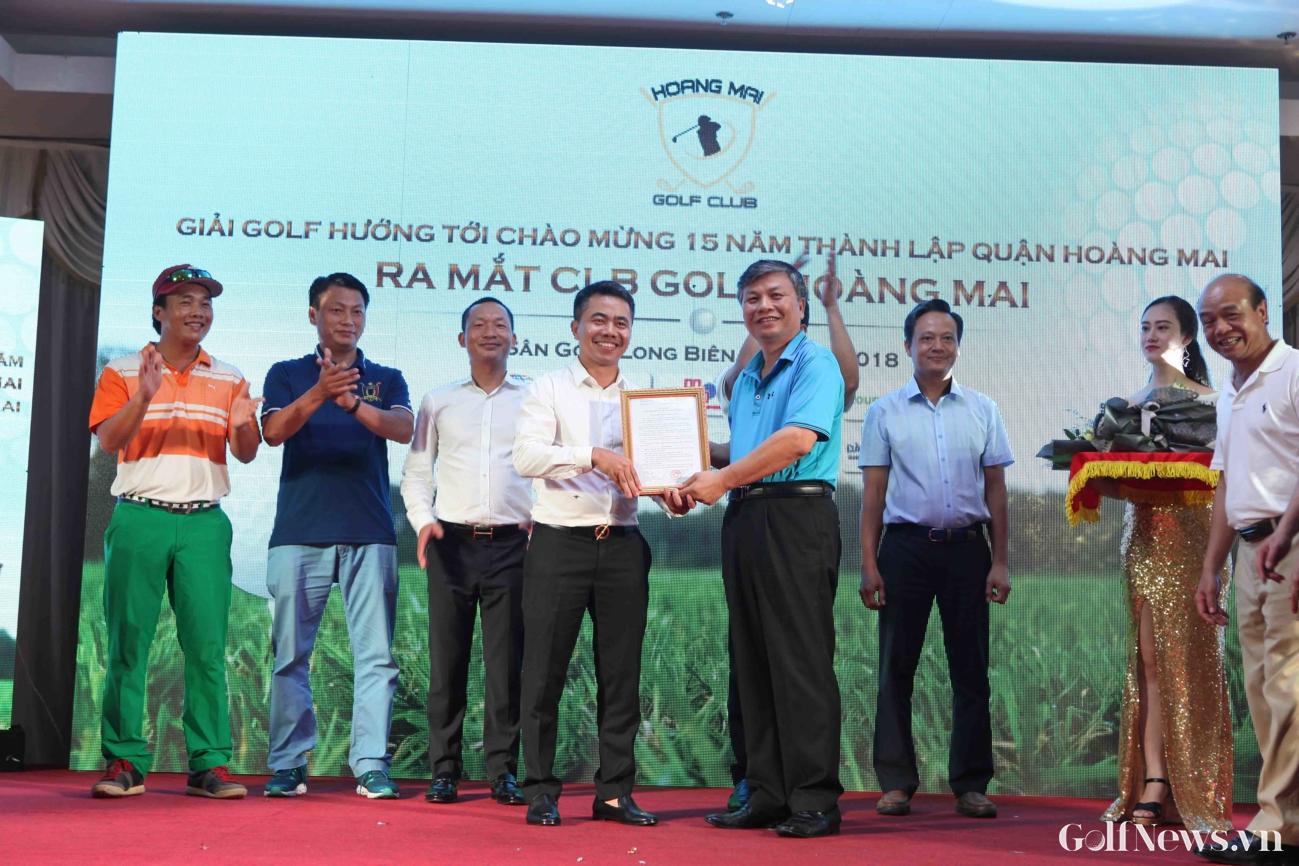 Giải Golf Hoàng Mai lần thứ I: Golfer Hoàng Hữu Sơn giành chức vô địch!