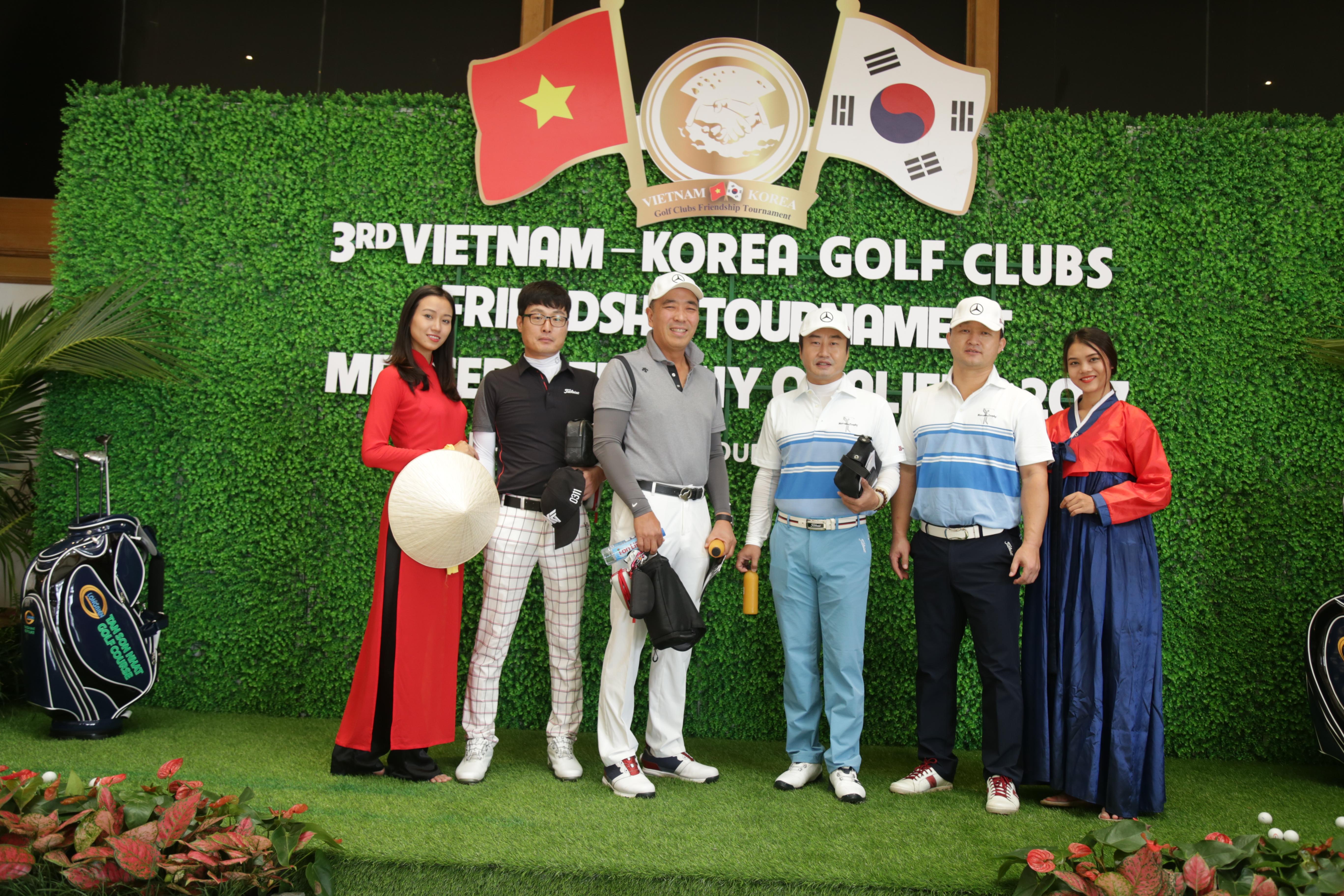 Giải Golf Hữu nghị Việt Hàn năm 2018