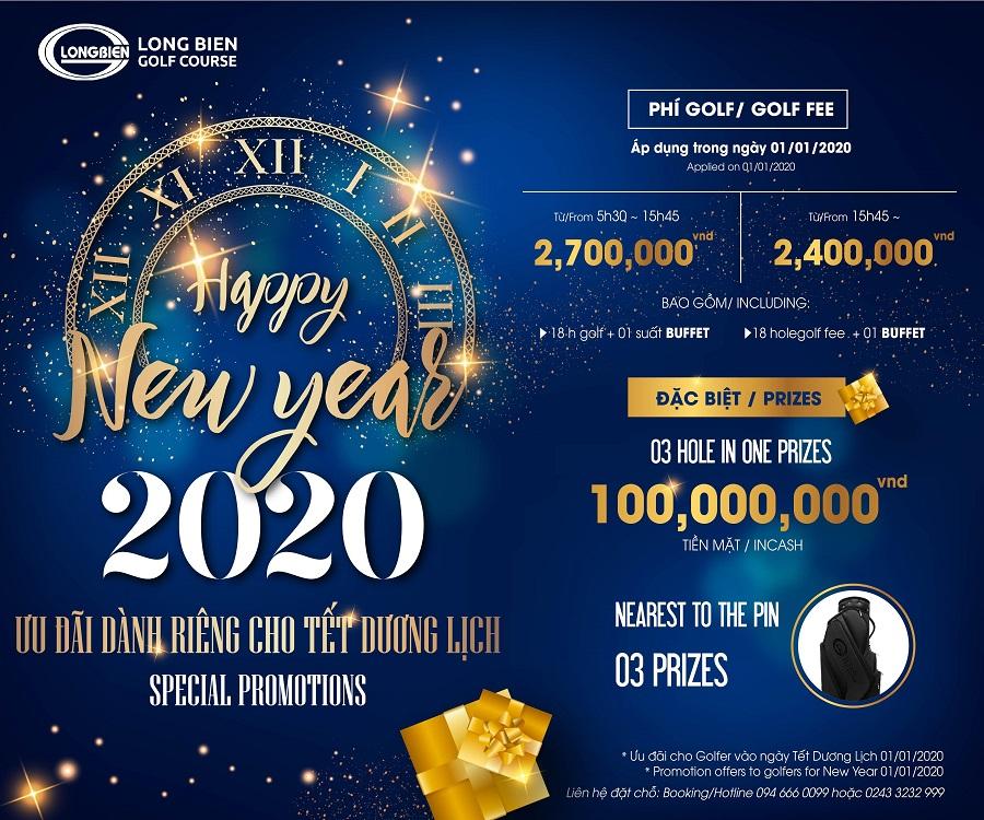 ƯU ĐÃI DÀNH CHO NGÀY TẾT DƯƠNG LỊCH 2020