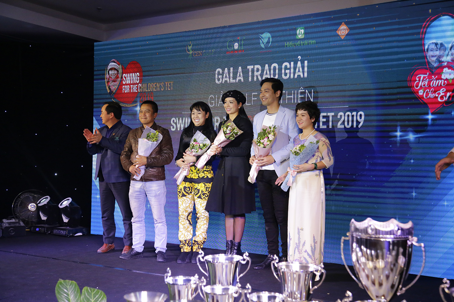 Giải golf từ thiện: Swing for the children's Tet 2019