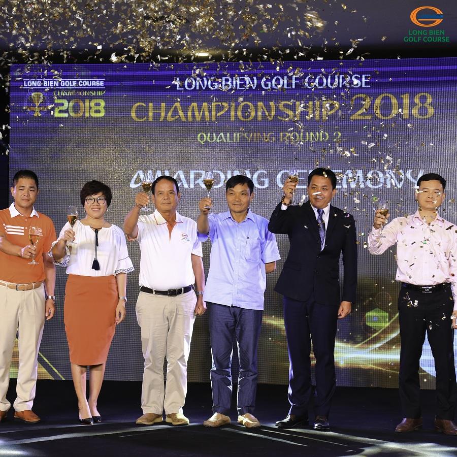 LỄ TRAO GIẢI VÒNG LOẠI 2 LONG BIEN GOLF COURSE CHAMPIONSHIP 2018