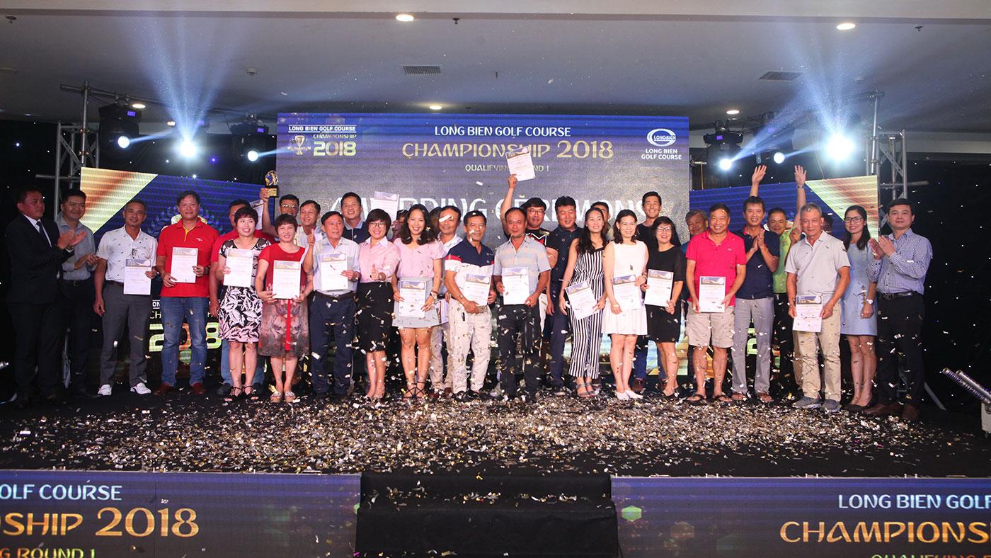 LỄ TRAO GIẢI VÒNG LOẠI 1 LONG BIEN GOLF COURSE CHAMPIONSHIP 2018