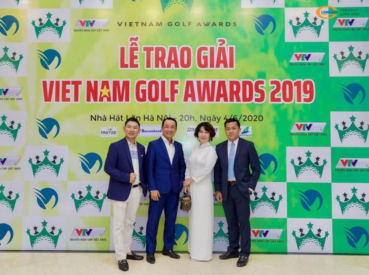 SÂN GOLF LONG BIÊN ĐƯỢC VINH DANH TẠI LỄ TRAO GIẢI VIỆT NAM GOLF AWARDS 2019
