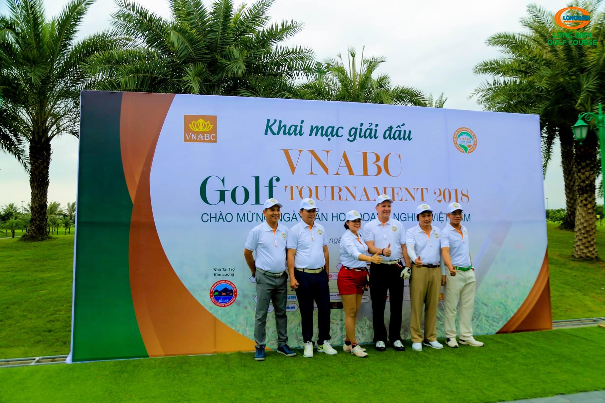 Giải golf VNABC Golf Tournament 2018